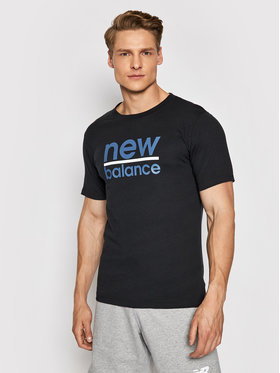 New Balance New Balance T-shirt Split MT11905 Nero Regular Fit