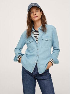 Mango Mango Koszula jeansowa Julie 17015957 Niebieski Regular Fit