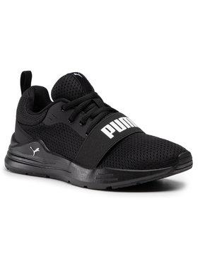 Puma Puma Обувки Wired Run Jr 374214 01 Черен