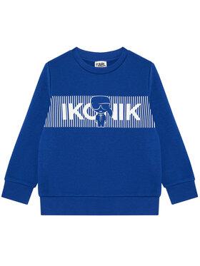 KARL LAGERFELD KARL LAGERFELD Bluză Z25290 S Albastru Regular Fit