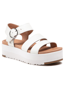 Ugg Ugg Sandále W Leedah 1119978 Biela