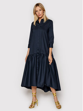 Imperial Imperial Marškinių tipo suknelė A9MYBBE Tamsiai mėlyna Regular Fit