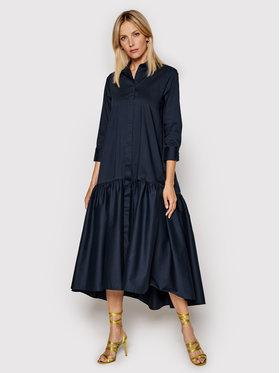 Imperial Imperial Sukienka koszulowa A9MYBBE Granatowy Regular Fit