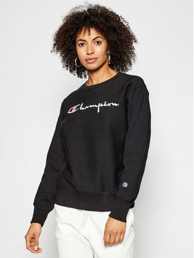 Champion Champion Sweatshirt Crewneck 113152 Noir Standard Fit