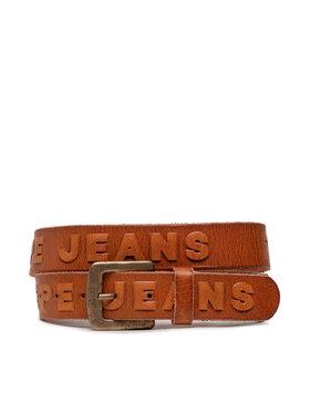 Pepe Jeans Pepe Jeans Мъжки колан Lena Belt PL020797 Кафяв
