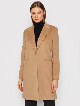 Rinascimento Rinascimento Zimný kabát CFC0103851003 Hnedá Regular Fit