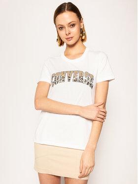 Converse Converse T-Shirt Twisted Varsity Pattern Tee 10018432-A03 Regular Fit