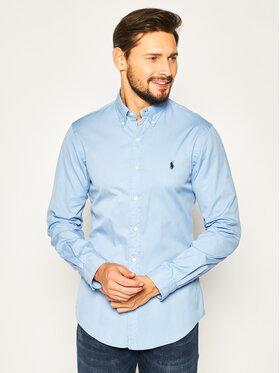 Polo Ralph Lauren Košeľa Classics 710787192 Modrá Slim Fit