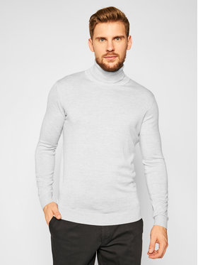 KARL LAGERFELD KARL LAGERFELD Golfas Knit 655040 502306 Pilka Regular Fit
