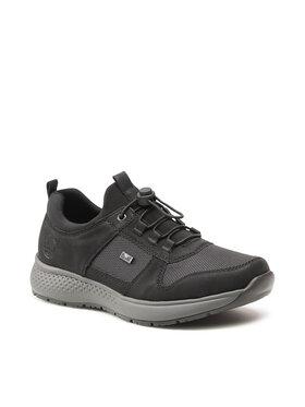 Rieker Rieker Sneakersy B7650-00 Czarny