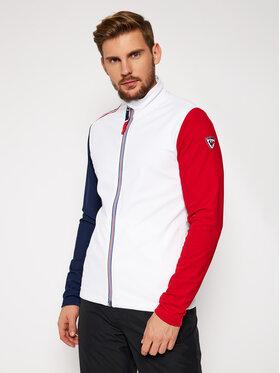 Rossignol Rossignol Bluza techniczna Palmares Full Zip RLIML05 Biały Slim Fit