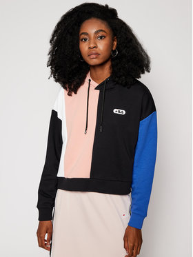 Fila Fila Mikina Bayou Blacked 687944 Barevná Regular Fit