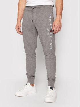 Tommy Hilfiger Tommy Hilfiger Spodnie dresowe Basic Branded MW0MW08388 Szary Regular Fit
