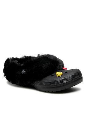 Crocs Crocs Шльопанці Classic Mammoth Charm Clog 207409 Чорний