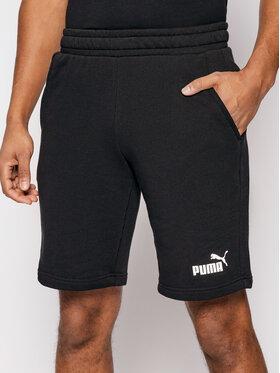 Puma Puma Szorty sportowe Ess 586709 Czarny Regular Fit