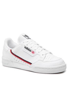 adidas adidas Обувки Continental 80 J F99787 Бял