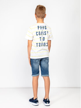Primigi Primigi Tričko Jersey 43222161 Biela Regular Fit
