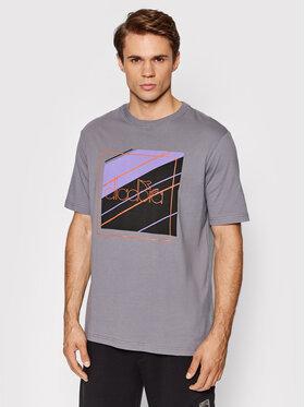 Diadora Diadora T-Shirt Palle Urbanity 502.177837 Szary Regular Fit