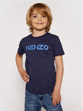 Kenzo Kids Kenzo Kids T-Shirt K25111 S Dunkelblau Regular Fit