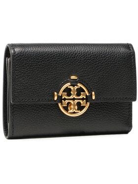Tory Burch Tory Burch Veliki ženski novčanik Miller Medium Flap Wallet 79393 Crna