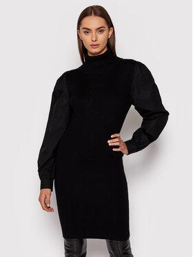 Gestuz Gestuz Плетена рокля Sisigz 10905579 Черен Slim Fit