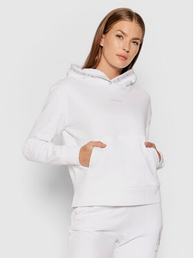 Calvin Klein Jeans Calvin Klein Jeans Bluza J20J215464 Biały Regular Fit