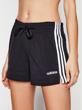 adidas adidas Αθλητικό σορτς Essentials 3-Stripes DP2405 Μαύρο Slim Fit