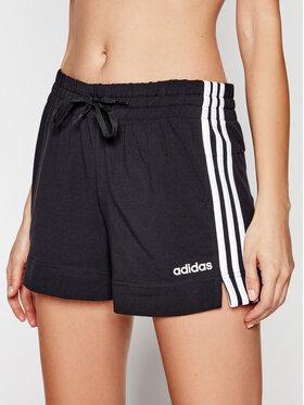 adidas adidas Sportiniai šortai Essentials 3-Stripes DP2405 Juoda Slim Fit