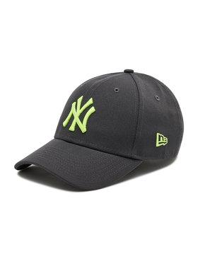 New Era New Era Шапка с козирка New York Yankees Neon Pack Graphite 9Forty 60137709 Сив