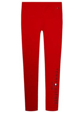 TOMMY HILFIGER TOMMY HILFIGER Leggings Essential Hwk KG0KG05183 D Rot Slim Fit