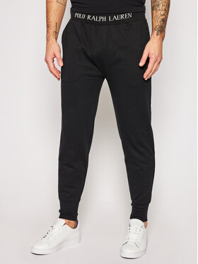 Polo Ralph Lauren Polo Ralph Lauren Teplákové kalhoty Loop Back 714804801002 Černá Regular Fit