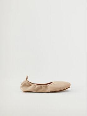 Mango Mango Baleriny Ballet 17010156 Beżowy