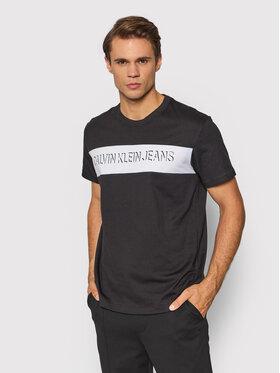 Calvin Klein Jeans Calvin Klein Jeans T-Shirt J30J319296 Czarny Regular Fit