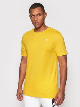 Fila Fila T-shirt Unwind 682201 Žuta Regular Fit