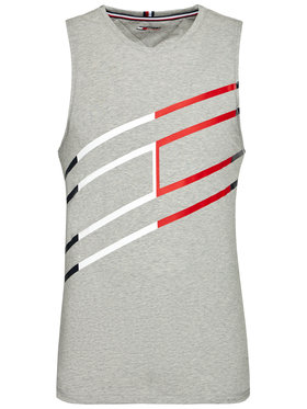 Tommy Hilfiger Tommy Hilfiger Smanicato Graphic MW0MW18588 Grigio Relaxed Fit