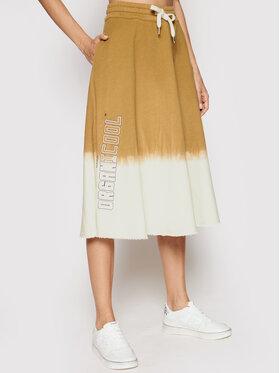 Pinko Pinko Trapézová sukně Etologia 1N1380 Y7PJ Bílá Regular Fit