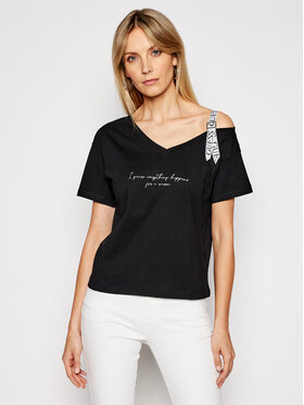 Guess Guess T-Shirt Anita W1GI90 I3Z11 Μαύρο Regular Fit