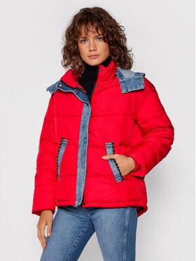 Desigual Desigual Vatovaná bunda Austen 21WWEW33 Červená Regular Fit