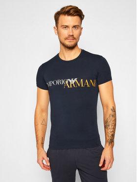 Emporio Armani Underwear Emporio Armani Underwear Tricou 111035 0A516 00135 Bleumarin Slim Fit