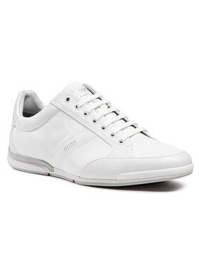 Boss Boss Sneakersy Saturn 50455323 10232529 01 Biały