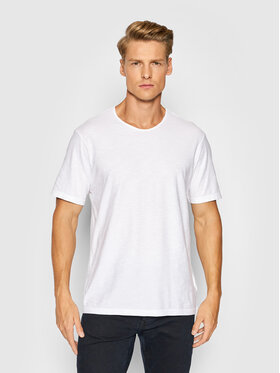 United Colors Of Benetton United Colors Of Benetton Тишърт 3JE1J19A5 Бял Regular Fit