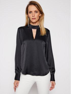DKNY DKNY Bluză P0JAVHOQ Negru Regular Fit