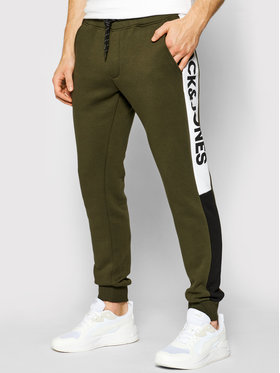 Jack&Jones Jack&Jones Pantaloni da tuta Will 12197199 Verde Regular Fit