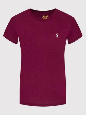 Polo Ralph Lauren Polo Ralph Lauren T-shirt Ssl 211847073007 Bordeaux Regular Fit