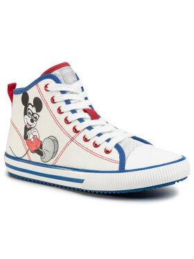 Geox Geox Sneakers aus Stoff J Alonisso B. H J022CH 00010 C0556 S Weiß