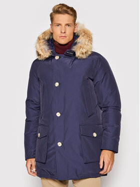 Woolrich Woolrich Winterjacke Arctic CFWOOU0482MRUT0001 Dunkelblau Regular Fit