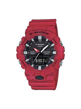 G-Shock G-Shock Hodinky GA-800-4AER Červená