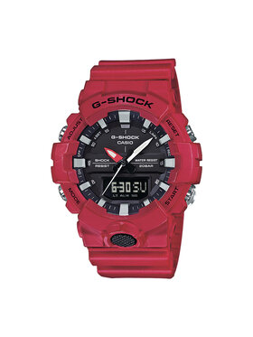 G-Shock G-Shock Ρολόι GA-800-4AER Κόκκινο