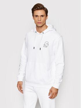 KARL LAGERFELD KARL LAGERFELD Sweatshirt Sweat 705079 512900 Blanc Regular Fit
