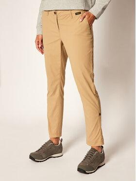 Jack Wolfskin Jack Wolfskin Outdoor панталони Desert Roll-Up 1505281 Бежов Regular Fit